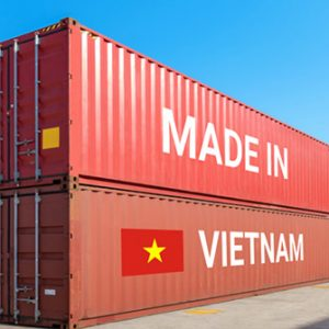 Container made in Vietnam