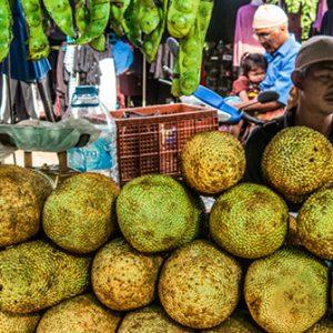 Verkaufsstand für Früchte
