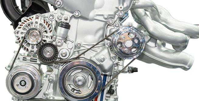 Ansicht eines Automotors