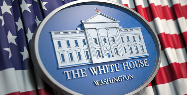 Emblem Weißes Haus