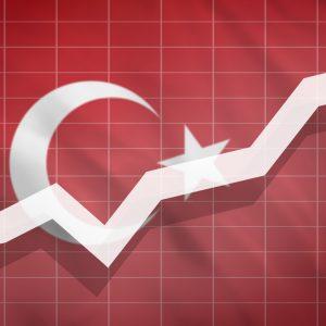 Kurve vor Flagge Türkei