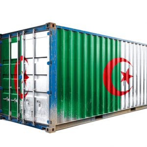 Container Flagge Algerien
