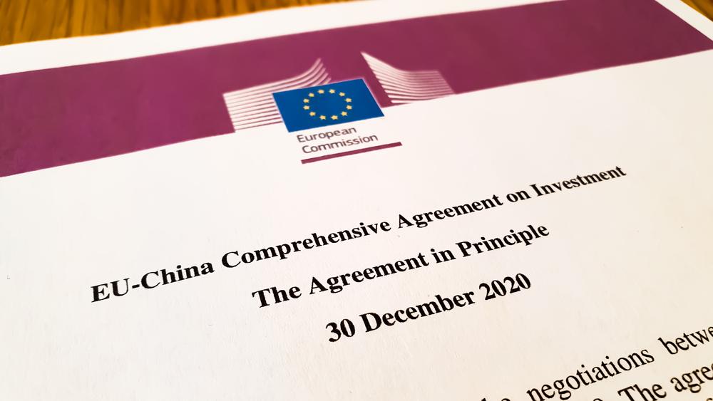 Titelseite des Abkommens