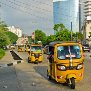 Tuk Tuks in Lagos Nigeria