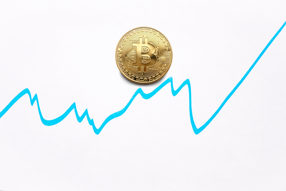 Kurve Kursverlauf Bitcoin