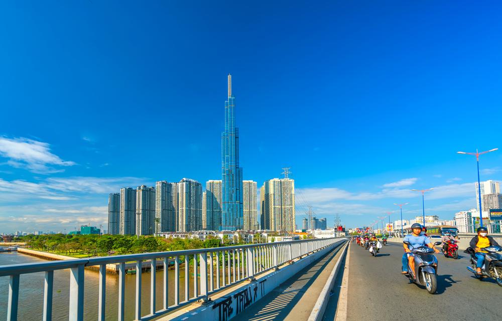 Skyline Ho-Chi-Minh-City