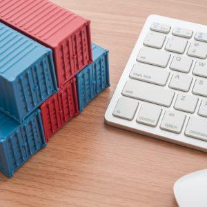Container und Keyboard