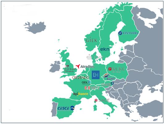 Landkarte ECA